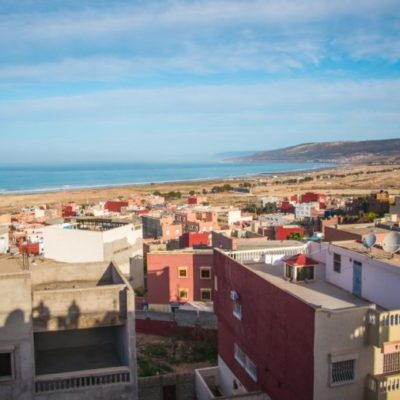 Tamraght view from Surf Star Morocco