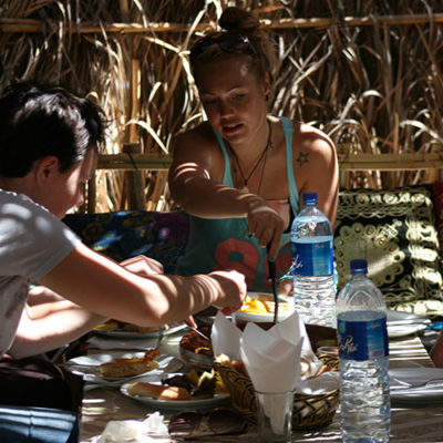 Eating Tagine in Paradise Valley with Surf Star Morocco