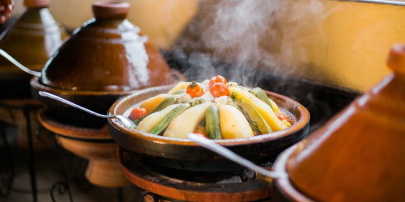 Tagines Are Cooking At Surf Star Morocco